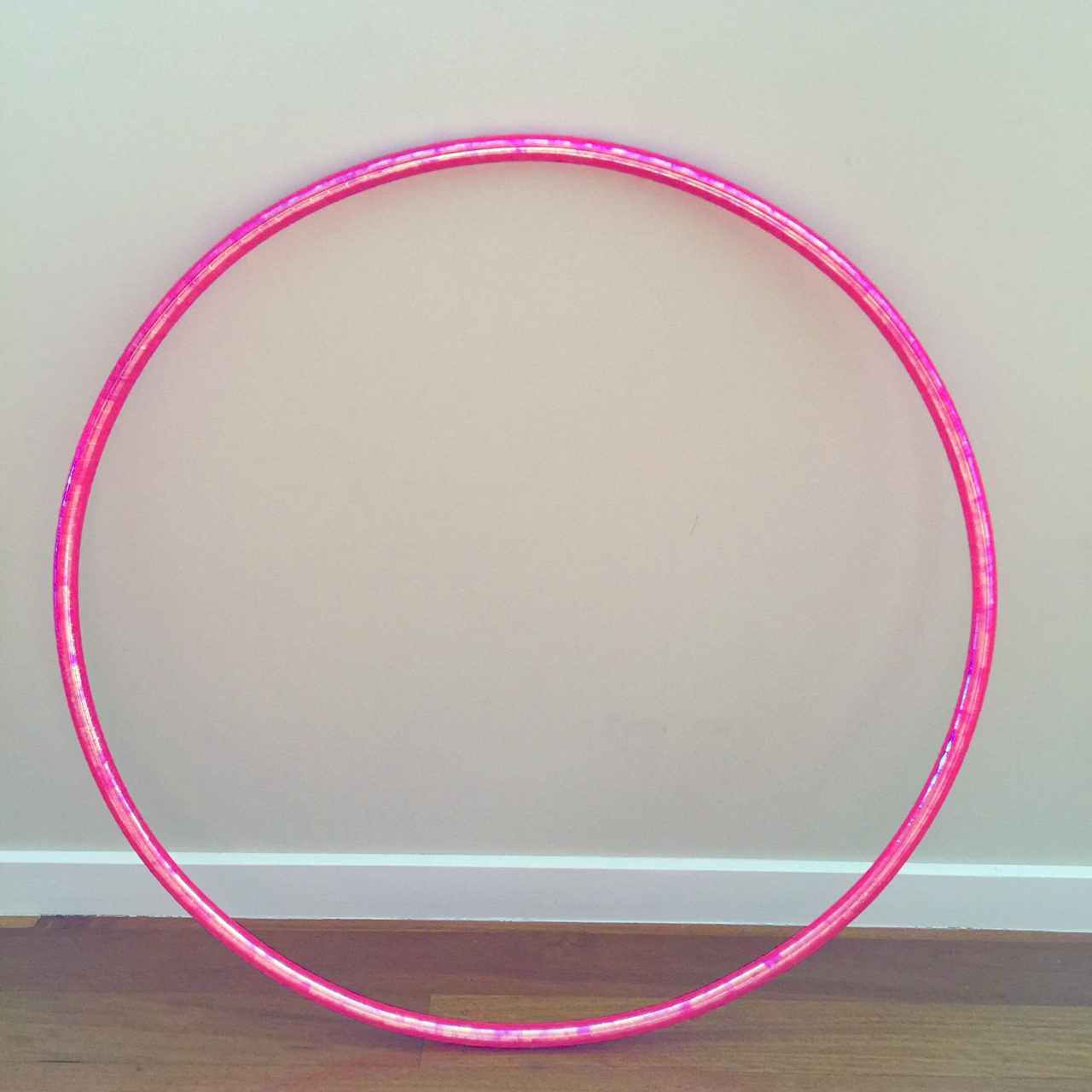 rodeo hoop with colour changing laser tape available in 11 colours