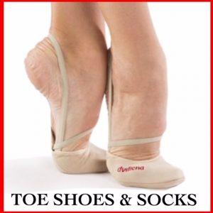 Rhythmic Gymnastics Toe Shoe Shop