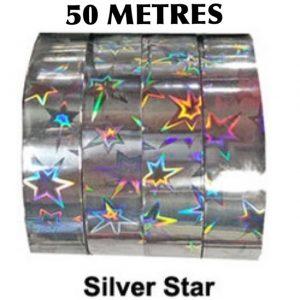 Rainbow Star Tape - SILVER