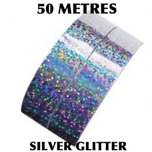SILVER Glitter Diamond Tape