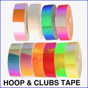Rhythmic Gymnastics Hoop & Clubs Tape